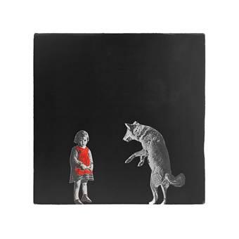 StoryTiles Little Red Riding Hood Wandtegel 13 x 13 cm