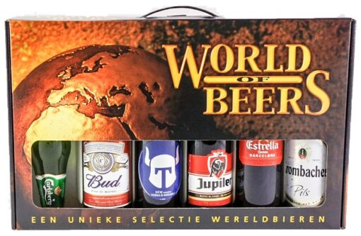 World Of Beers Bierpakket 6 x 33 cl
