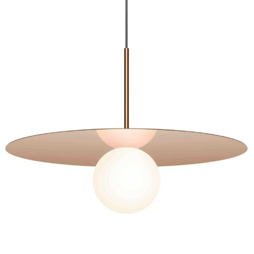 Pablo Bola Disc 22 hanglamp LED rose goud