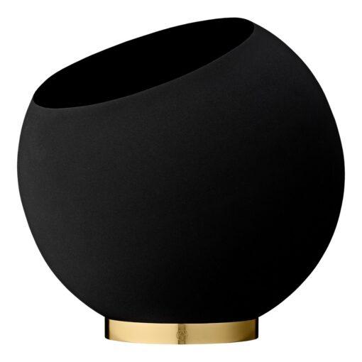 Globe bloempot Ø37 cm Black