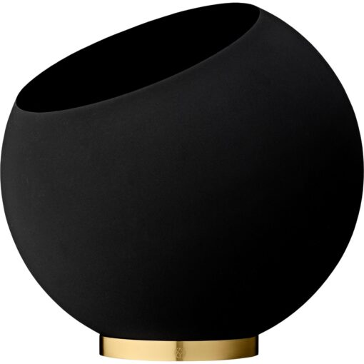 Globe bloempot Ø43 cm Black