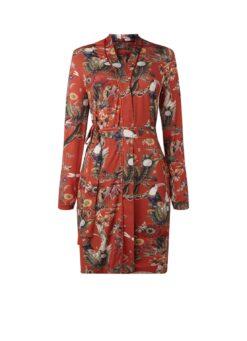 Essenza Fulmar Airen kimono met bloemendessin