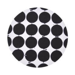 Tallyho pannenonderzetter Ø 21 cm Zwart-wit