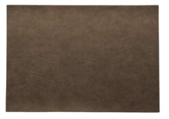 ASA Selection Placemat Leer Nougat 33 x 46 cm