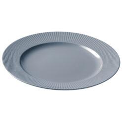 Groovy bord Ø 27 cm Grijs