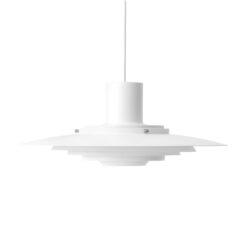 P376 plafondlamp KF1 Mat wit