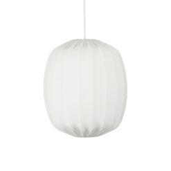 Prisma plafondlamp Ø35 cm Wit