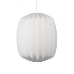 Prisma plafondlamp Ø45 cm Wit