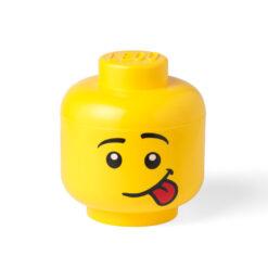 LEGO® Opbergbox Hoofd Silly Ø 24 x 27.1 cm