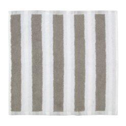 Kaksi Raitaa handdoek grijs minihanddoek