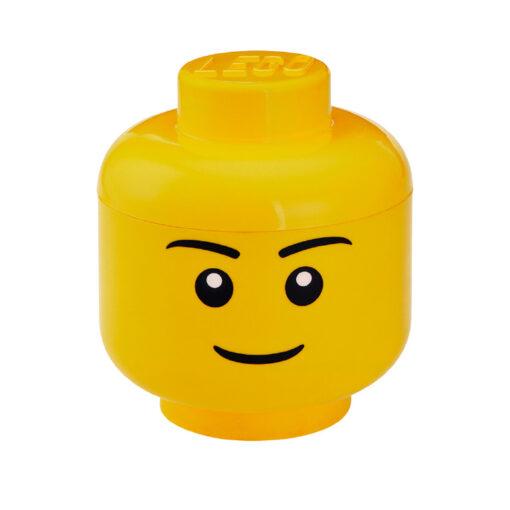 LEGO® Opbergbox Hoofd Boy Ø 24 x 27.1 cm