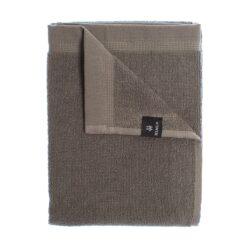Lina handdoek nickel 50x70 cm