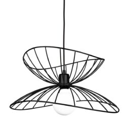 Ray plafondlamp Ø 45 cm matzwart