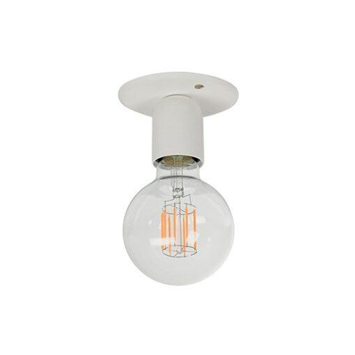 Regal plafondlamp verzonken Wit