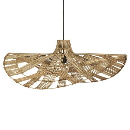 Wella plafondlamp rotan 81 cm Natuur