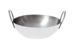 Paderno Wokpan Balti Dish IJzer Ø 15 cm