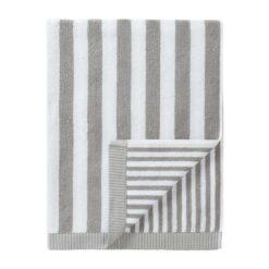 Kaksi Raitaa handdoek grijs badhanddoek