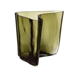 Alvar Aalto vaas Limited Edition 175 mm Mosgroen