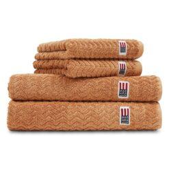 Icons Structured handdoek 50x70 cm Caramel